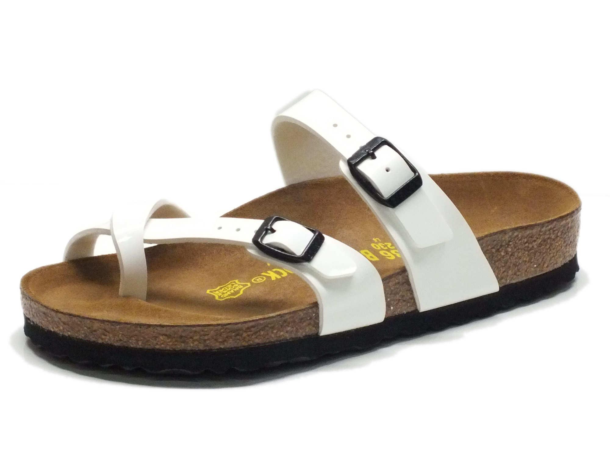 Sandali Birkenstock donna colore bianco - Vitiello Calzature 12267e7920a