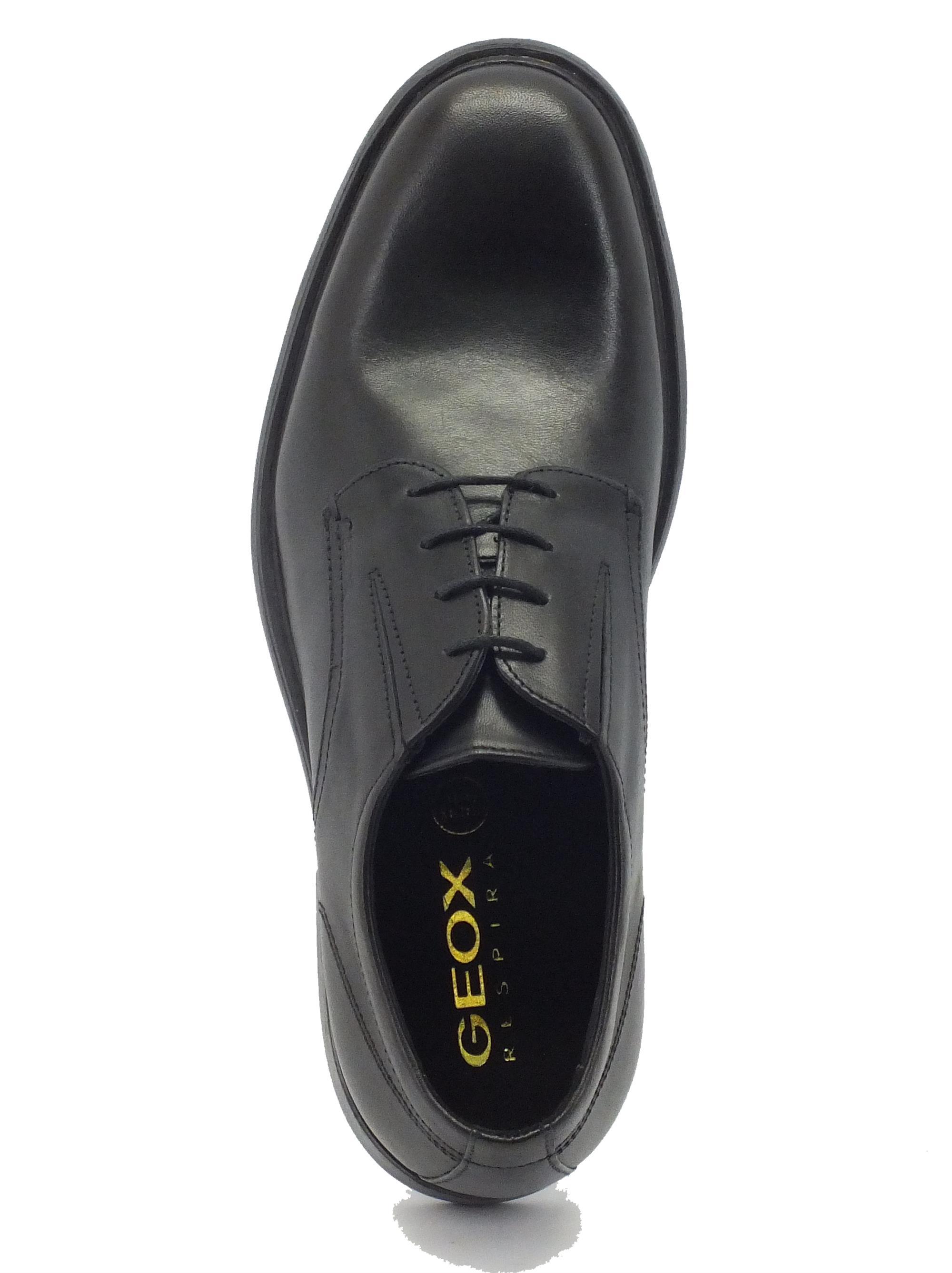 586706e0f64461 Scarpe Geox uomo modello classico pelle nera - Vitiello Calzature