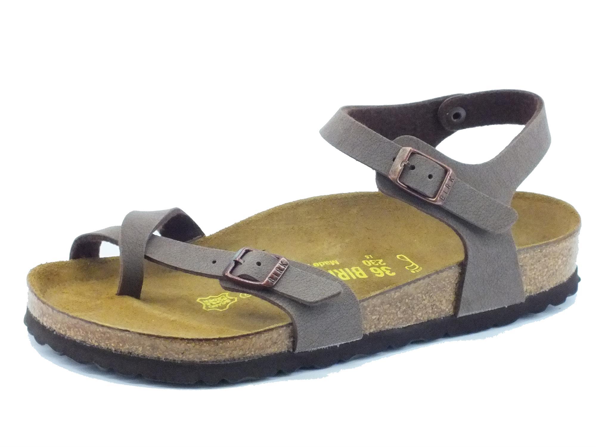 Sandali Birkenstock donna colore marrone - Vitiello Calzature 02380797914