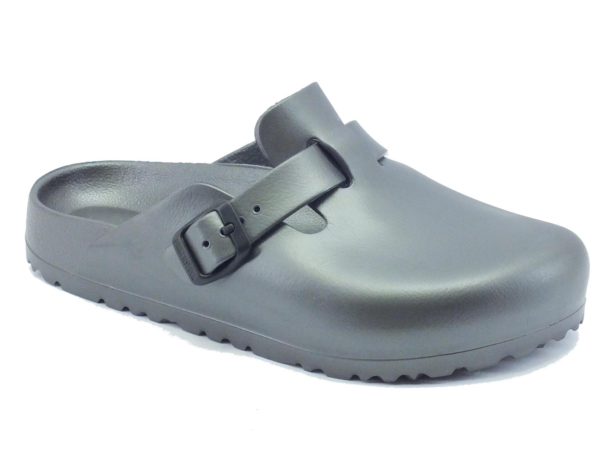 Sandali Birkenstock donna gomma grigio - Vitiello Calzature 96bef251a9d