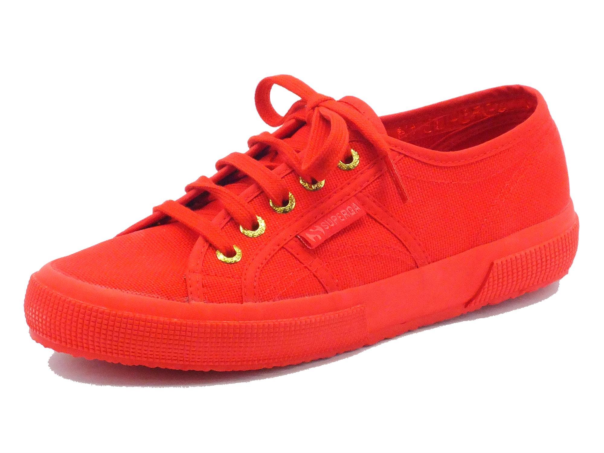 Scarpe sportive Superga donna colore rosso - Vitiello Calzature a9be98ff8c2