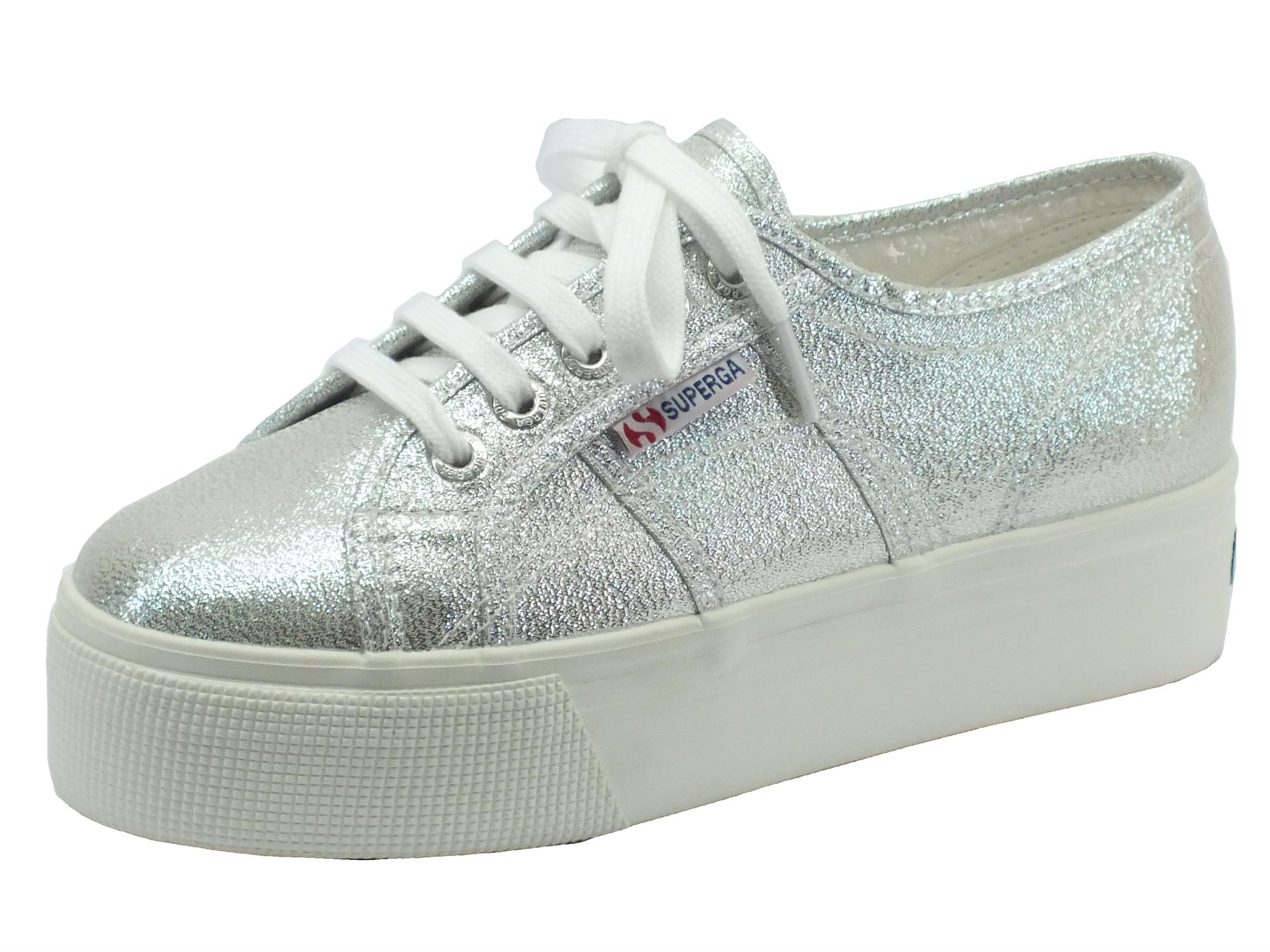 Superga Scarpe grigio argento Colore Donna
