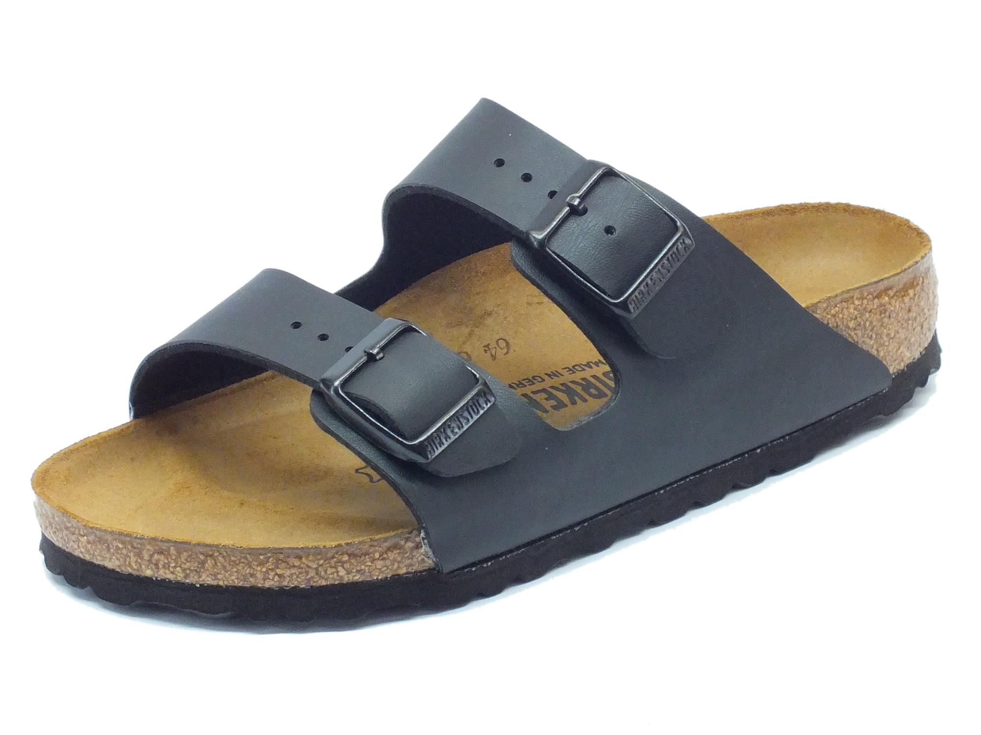 Sandali Birkenstock donna Arizona BS colore black - Vitiello Calzature a9d19d0c6f5