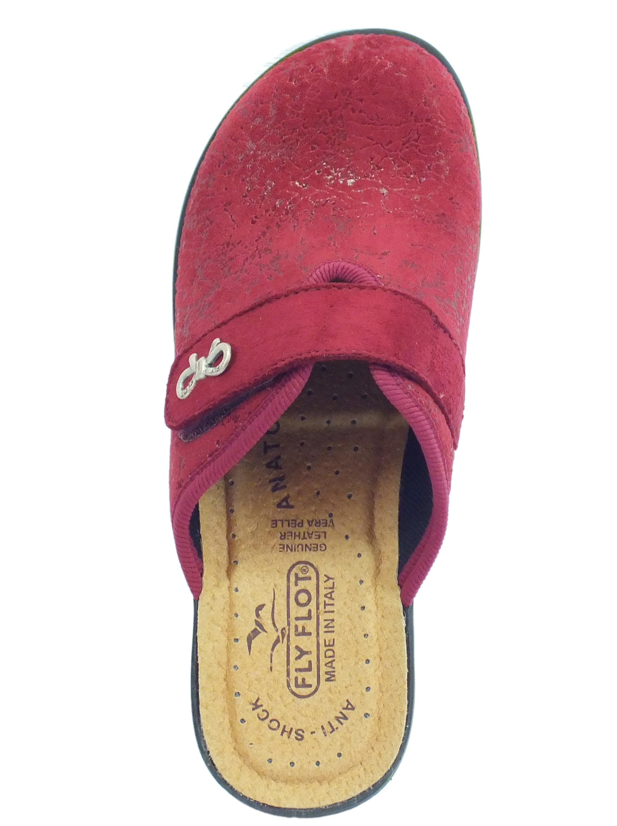 ... Pantofole FlyFlot per donna in tessuto elasticizzato bordo regolazione  a strappo 9b59593d262