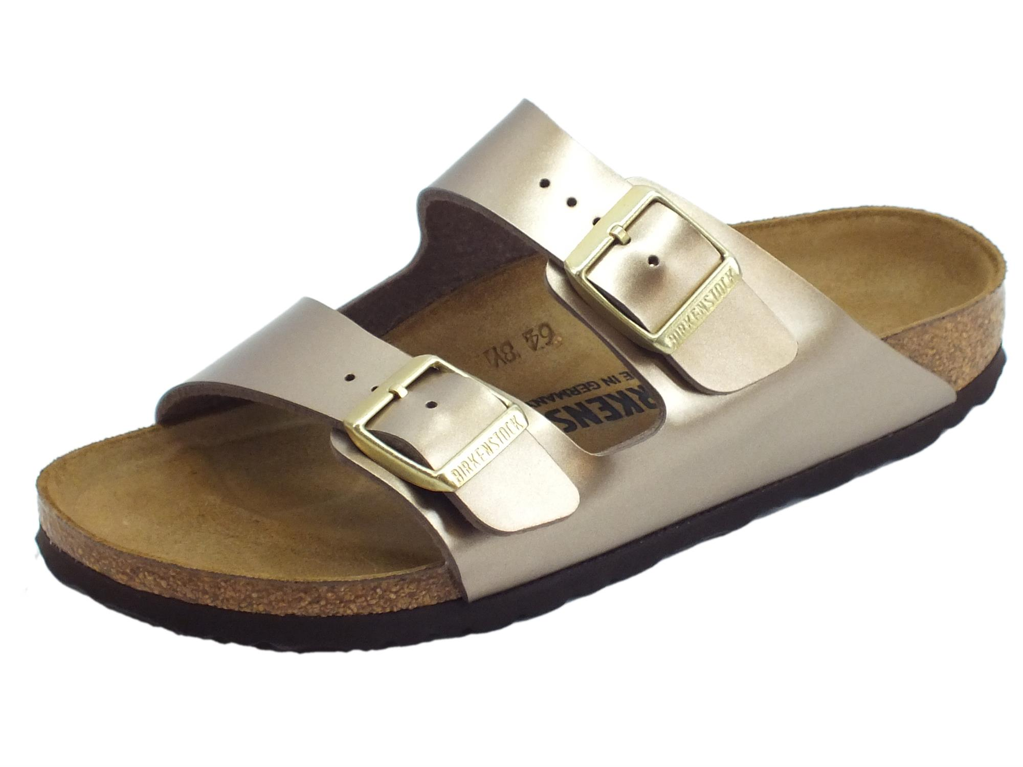 Birkenstock Gomma Arizona Metallico Colore Hqcdstrx Donna Sandali Bs qSzVUMp