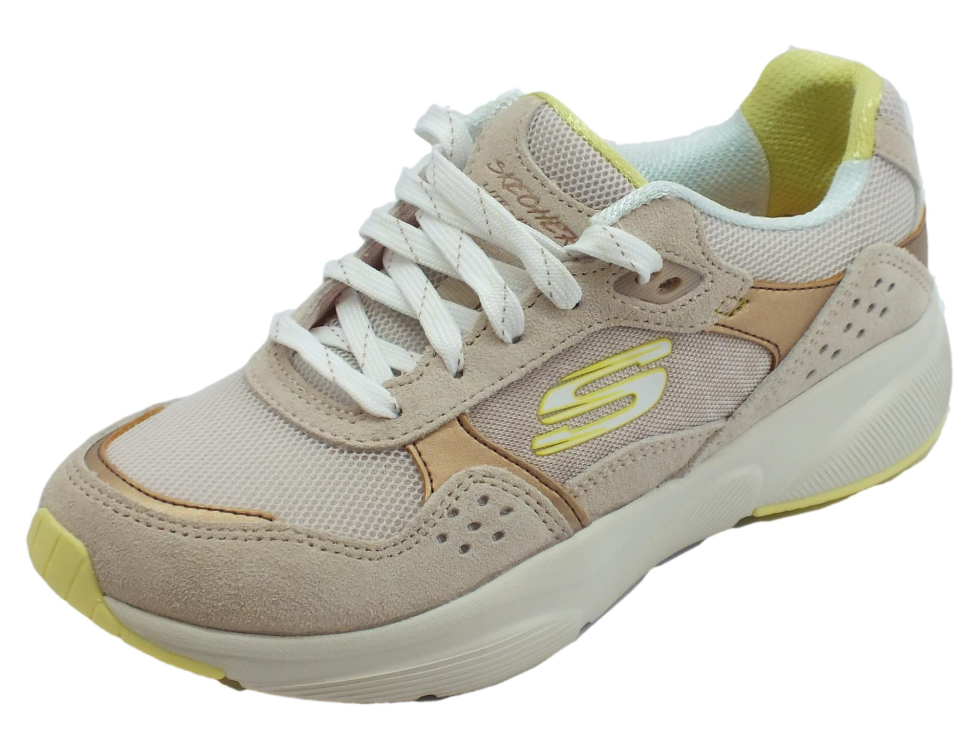 Skechers Meridian No Worries Scarpe Sportive Donna taupe - Vitiello ... 2b7be69332d