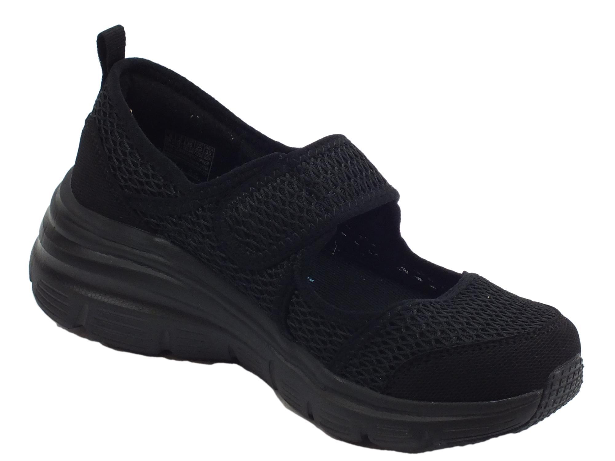7cb82d099d4e7 ... Skechers Fashion Fit Breezy Sky scarpe Sportive donna nere ...