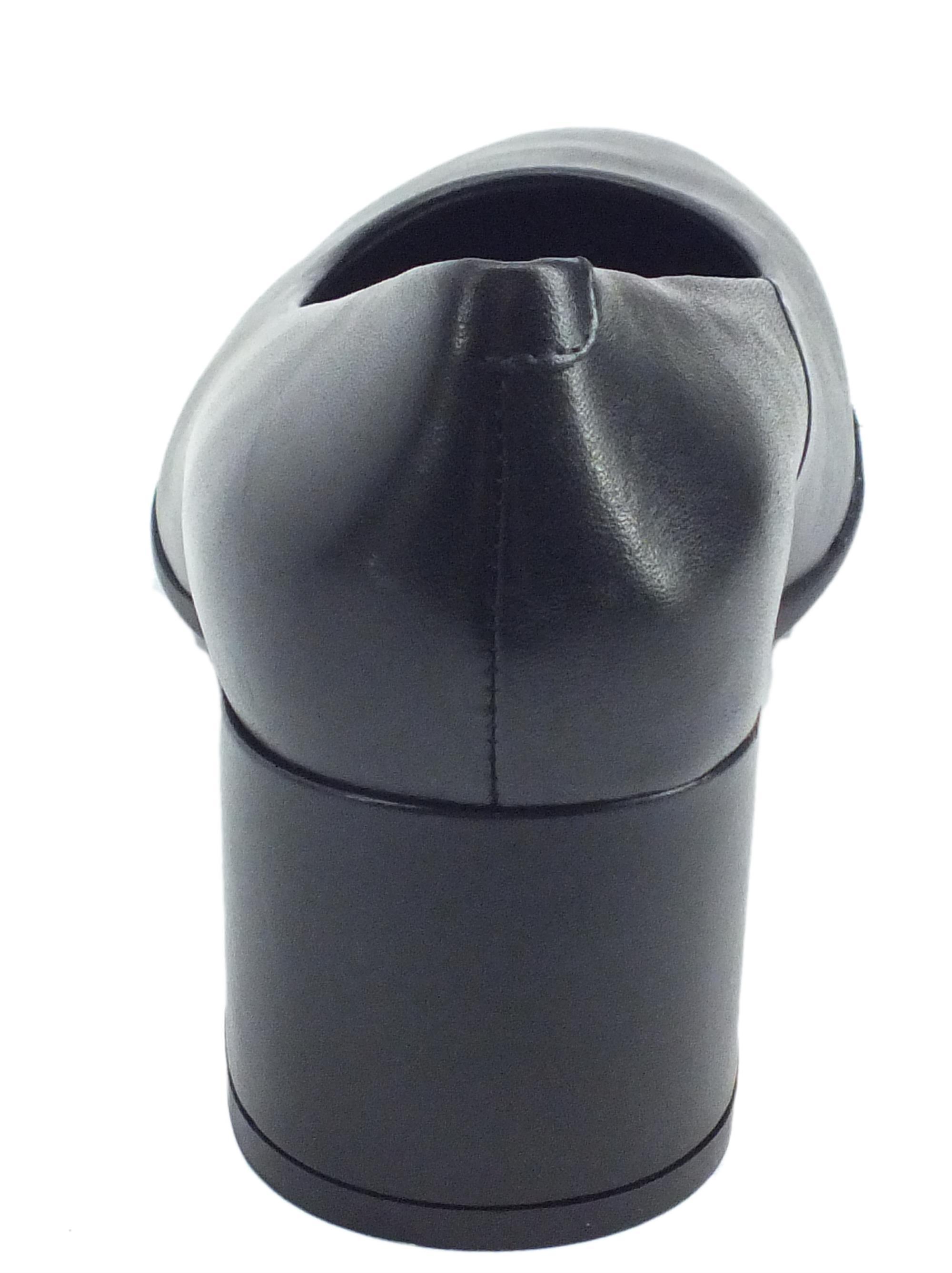 Geox D92CBA D New Annya M. A Nappa Black Decoltè con tacco il pelle nera