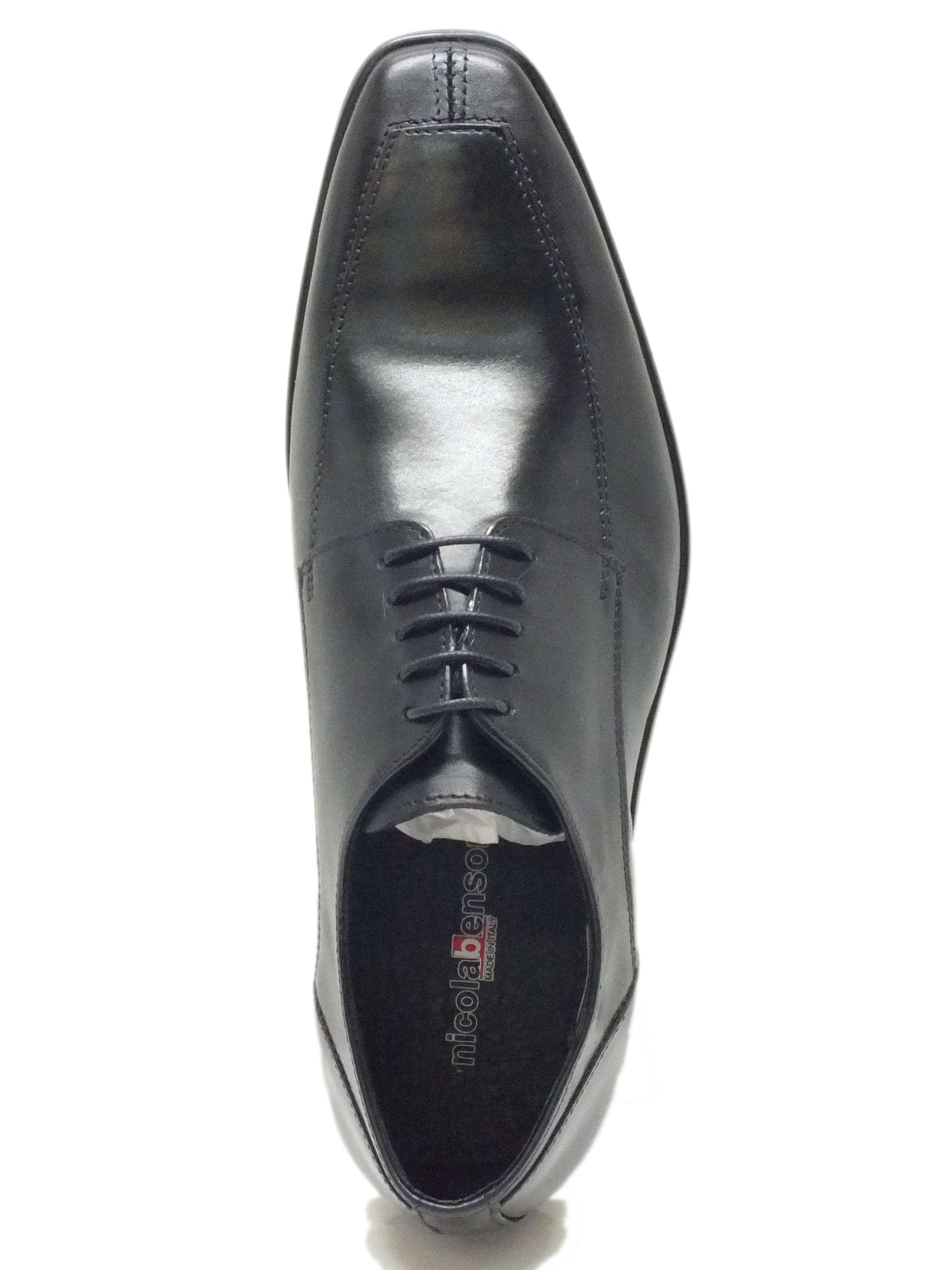 Scarpe eleganti uomo vera pelle nera - Vitiello Calzature 6626bb8c6b7