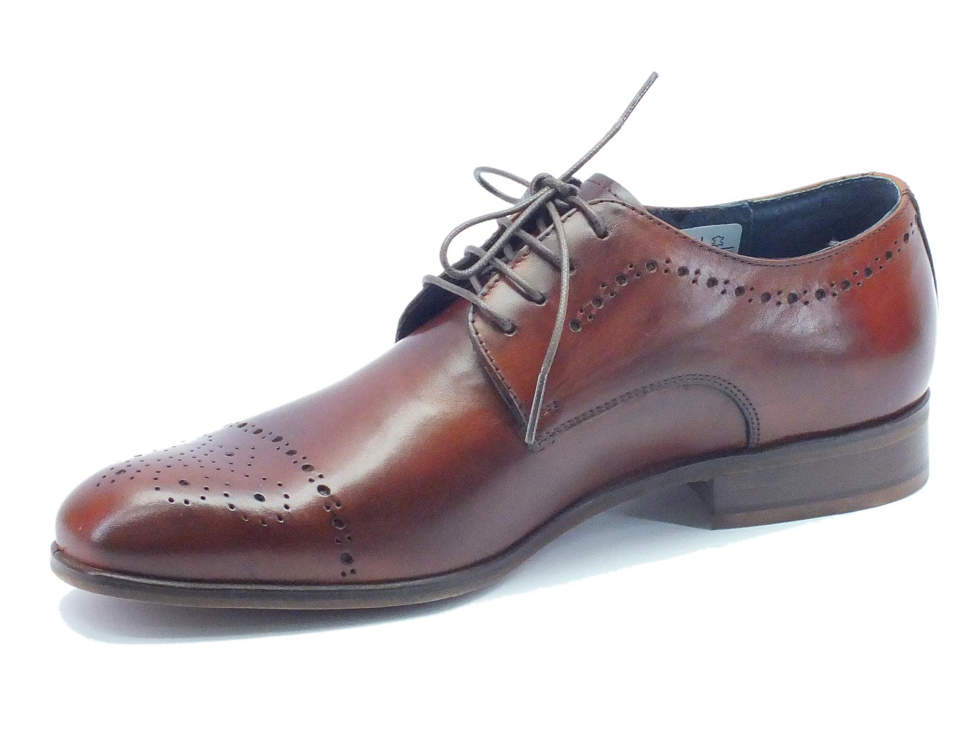 Scarpe classiche da uomo NicolaBenson pelle marrone - Vitiello Calzature cadc16faa79