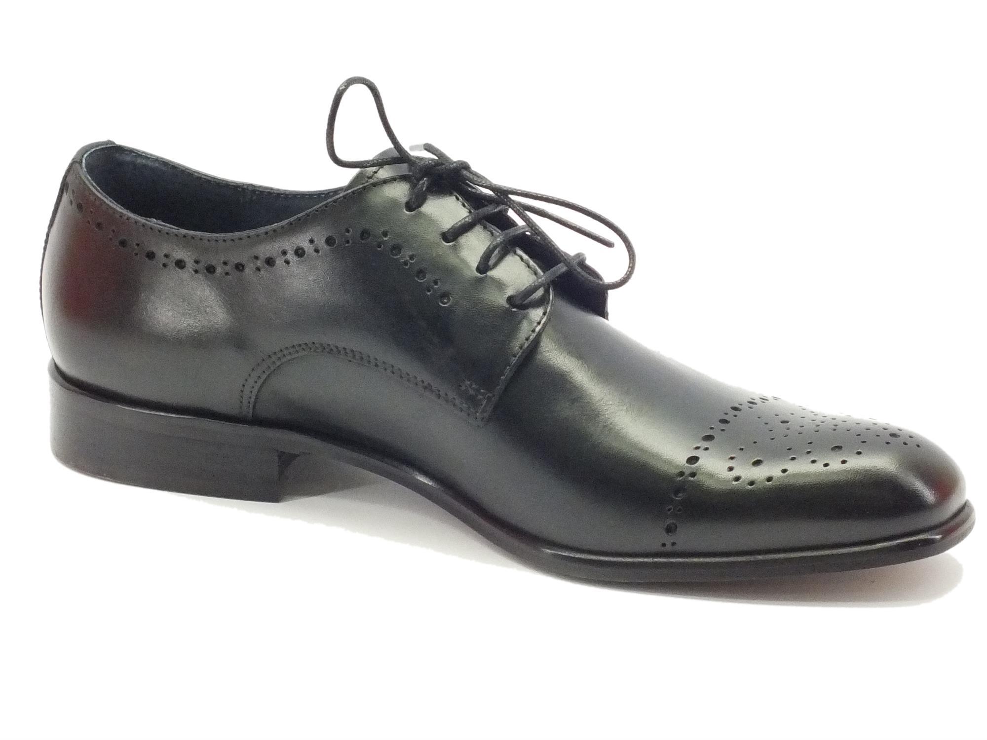 Scarpe classiche da uomo NicolaBenson pelle nera - Vitiello Calzature 0039774ab58