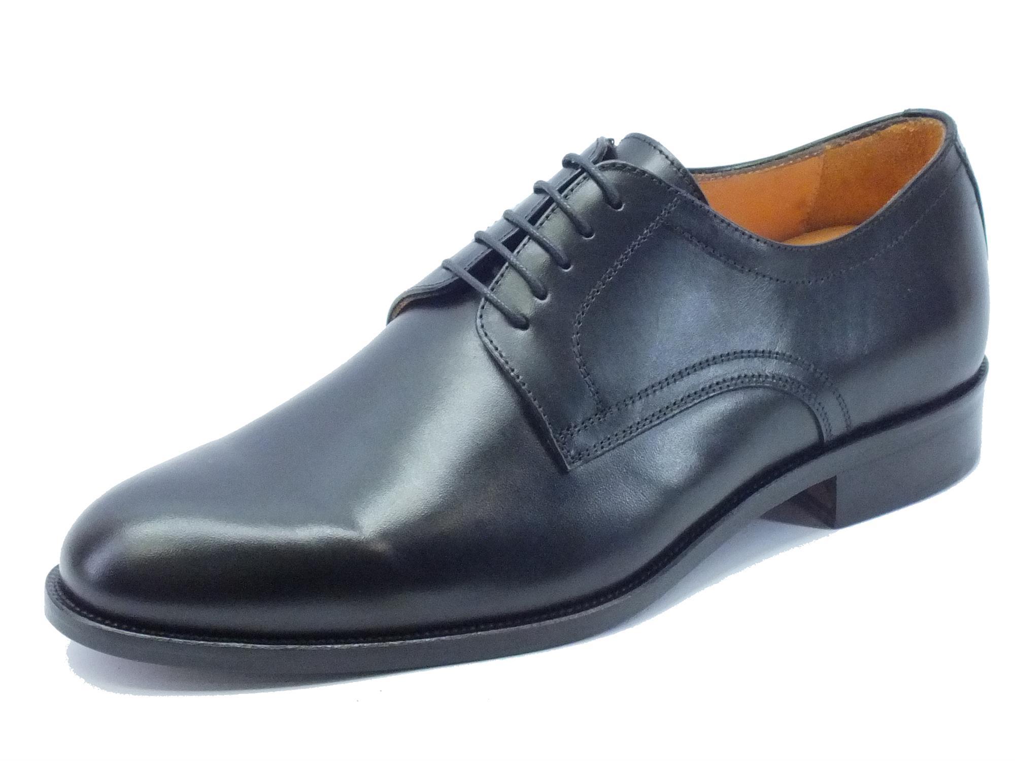 nuova alta qualità design distintivo stile di moda del 2019 Scarpe classiche made in Italy per uomo in vera pelle nera