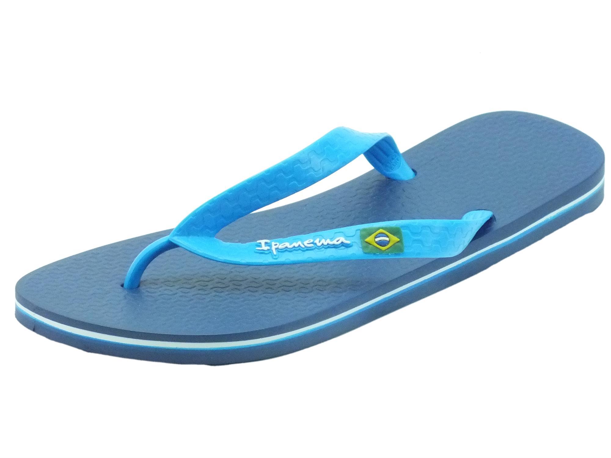 183df272ed74a Infradito Ipanema Clas Brasil uomo caucciù blu - Vitiello Calzature