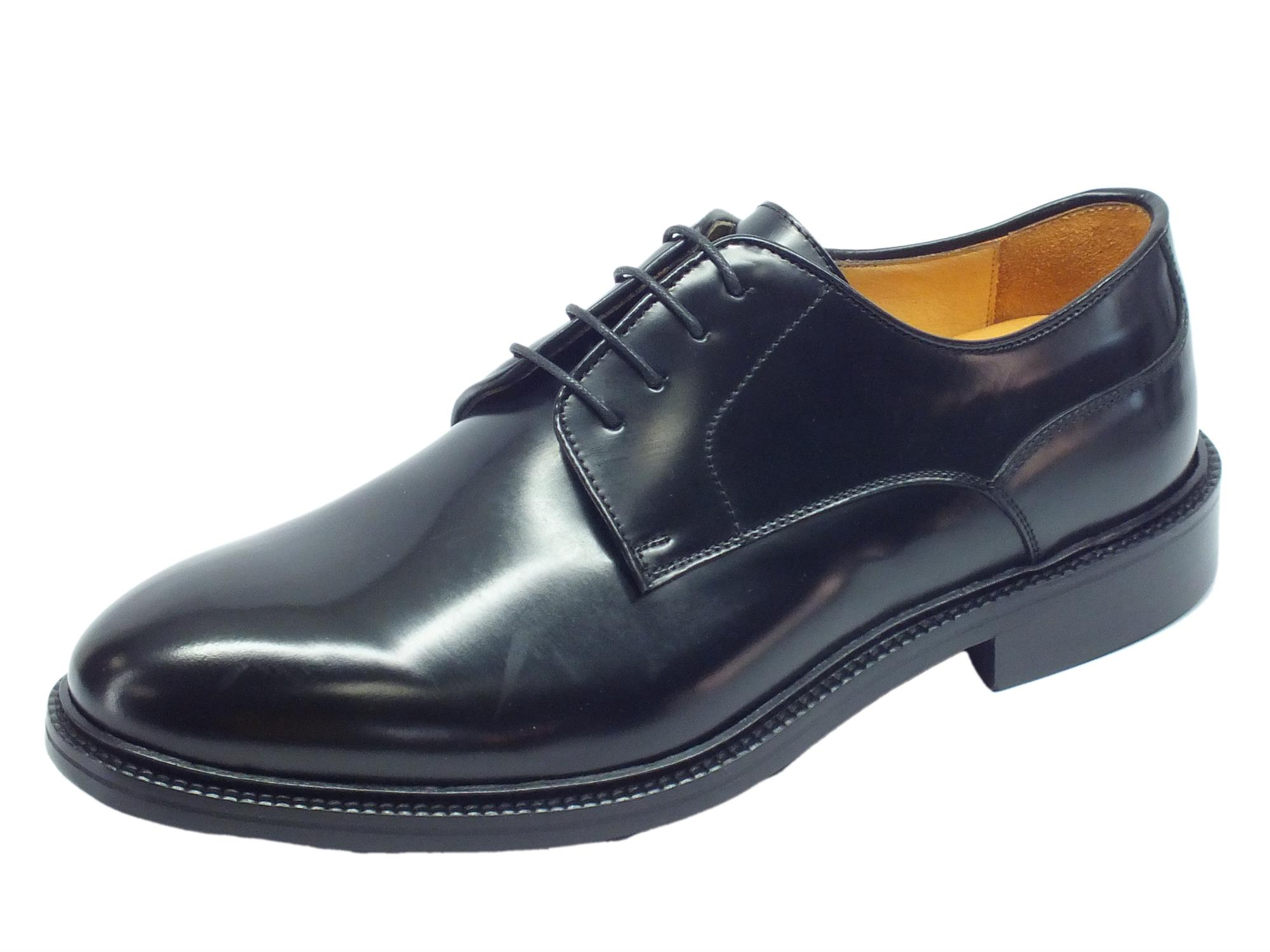 uk availability 6eba6 74cd5 Scarpe classiche Mercanti Fiorentini in pelle abrasivata nera