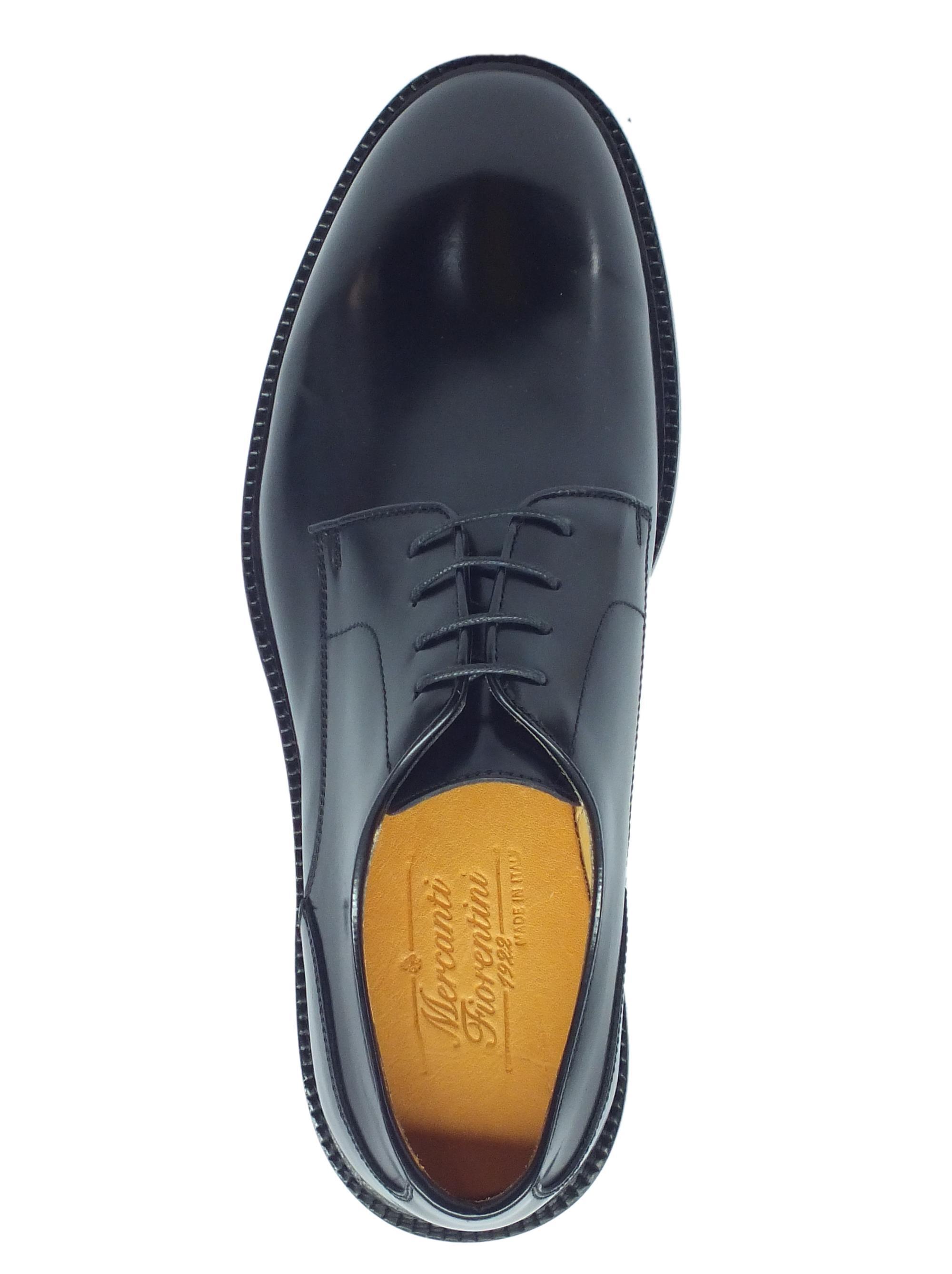 1f582463947 ... Scarpe classiche Mercanti Fiorentini in pelle abrasivata nera