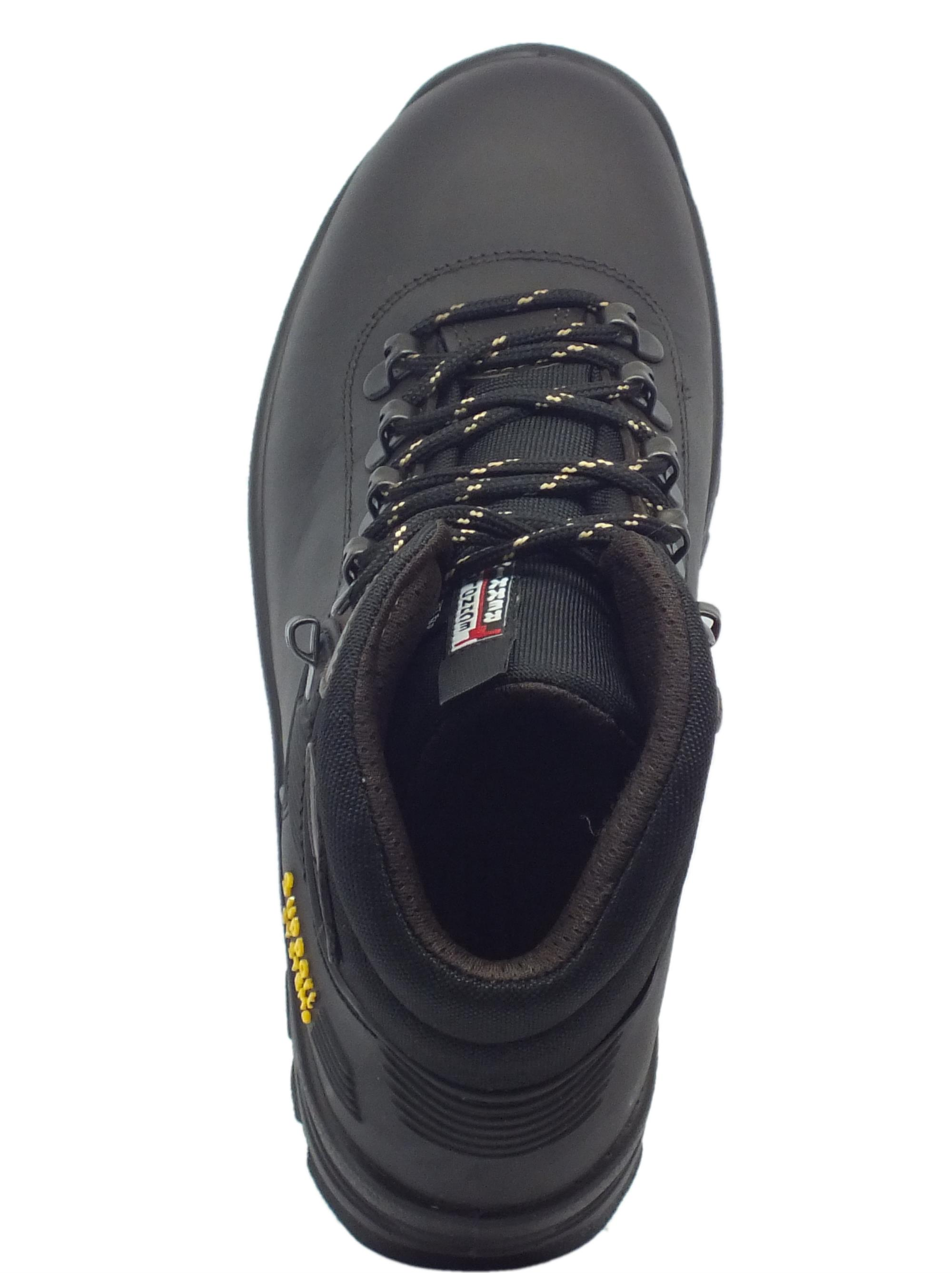Scarponcini da trekking uomo Grisport pelle nera - Vitiello Calzature 8344130bca3