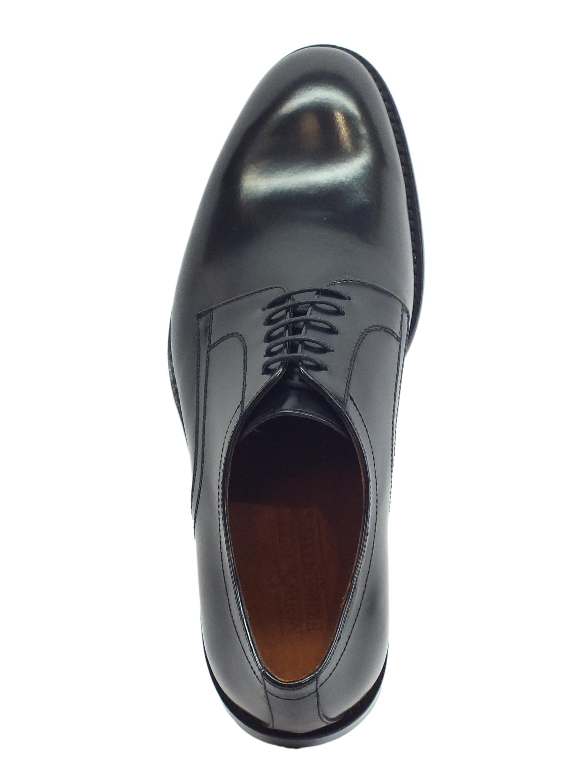 ... Scarpe eleganti per uomo Mercanti Fiorentini in pelle abrasivata nera 706b7808f25