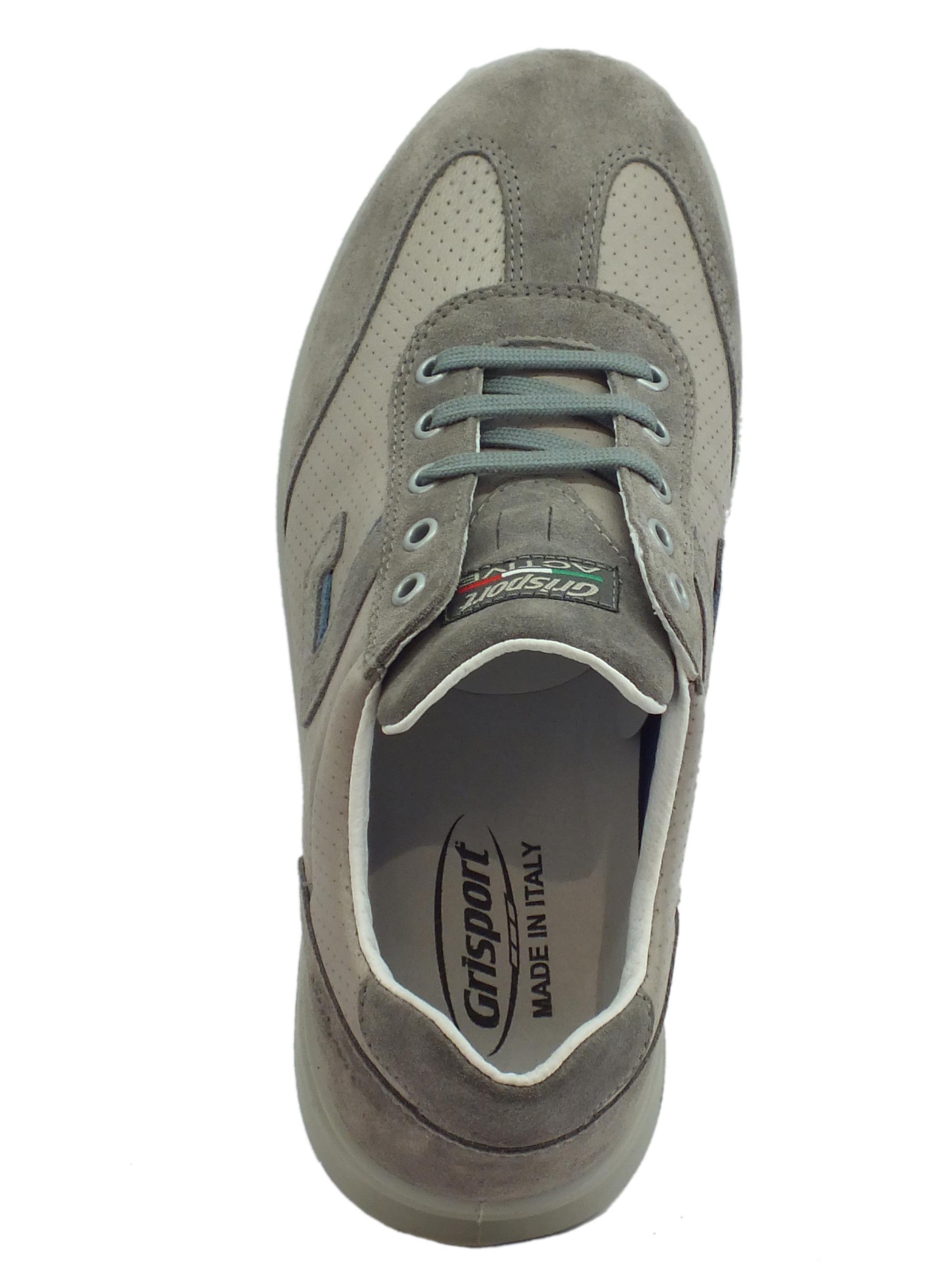 ... Scarpe Grisport Active per uomo in nabuk e pelle grigio antistatica cfd89d9d481