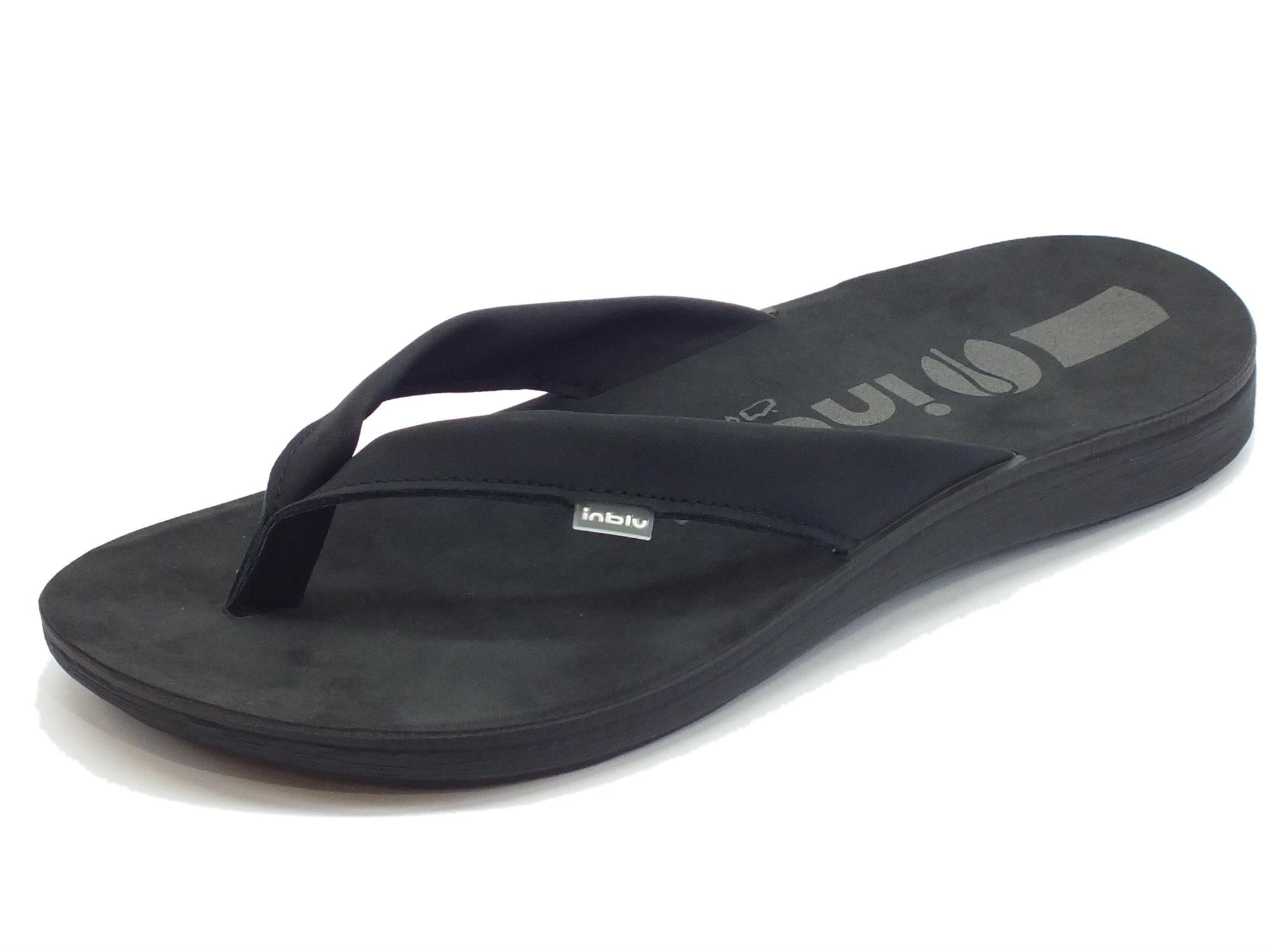 di buona qualità guarda bene le scarpe in vendita prezzo folle Infradito InBlu uomo gomma nero - Vitiello Calzature