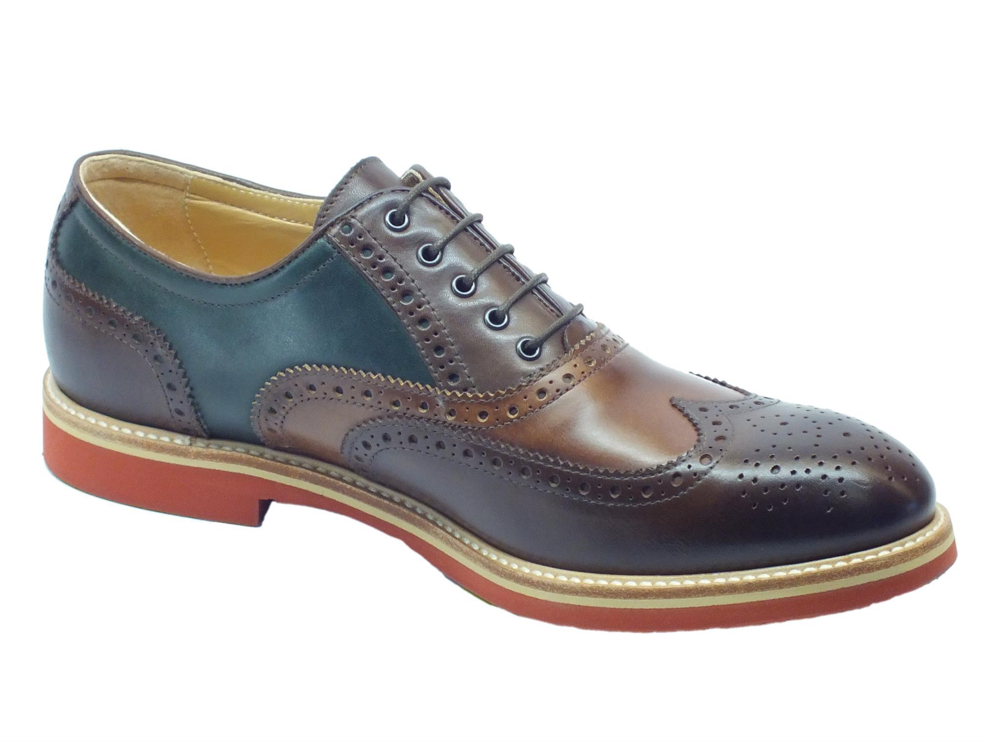 ... Scarpe Eleganti NeroGiardini per uomo in pelle colori castagno legno  bottiglia ... b74aba57f04