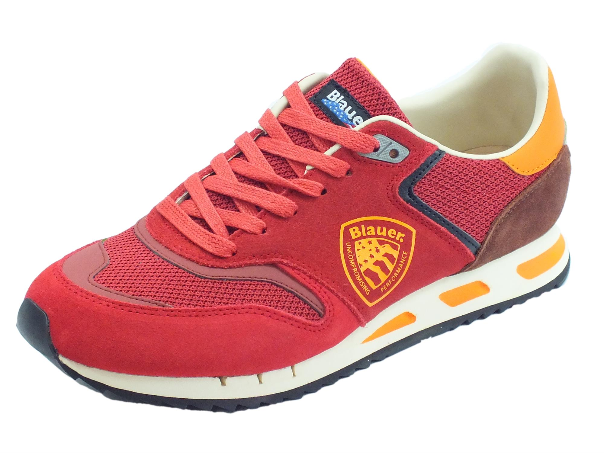 molto carino 316d8 cdd5f Blauer USA Memphis 06 scarpe sportive uomo rosso