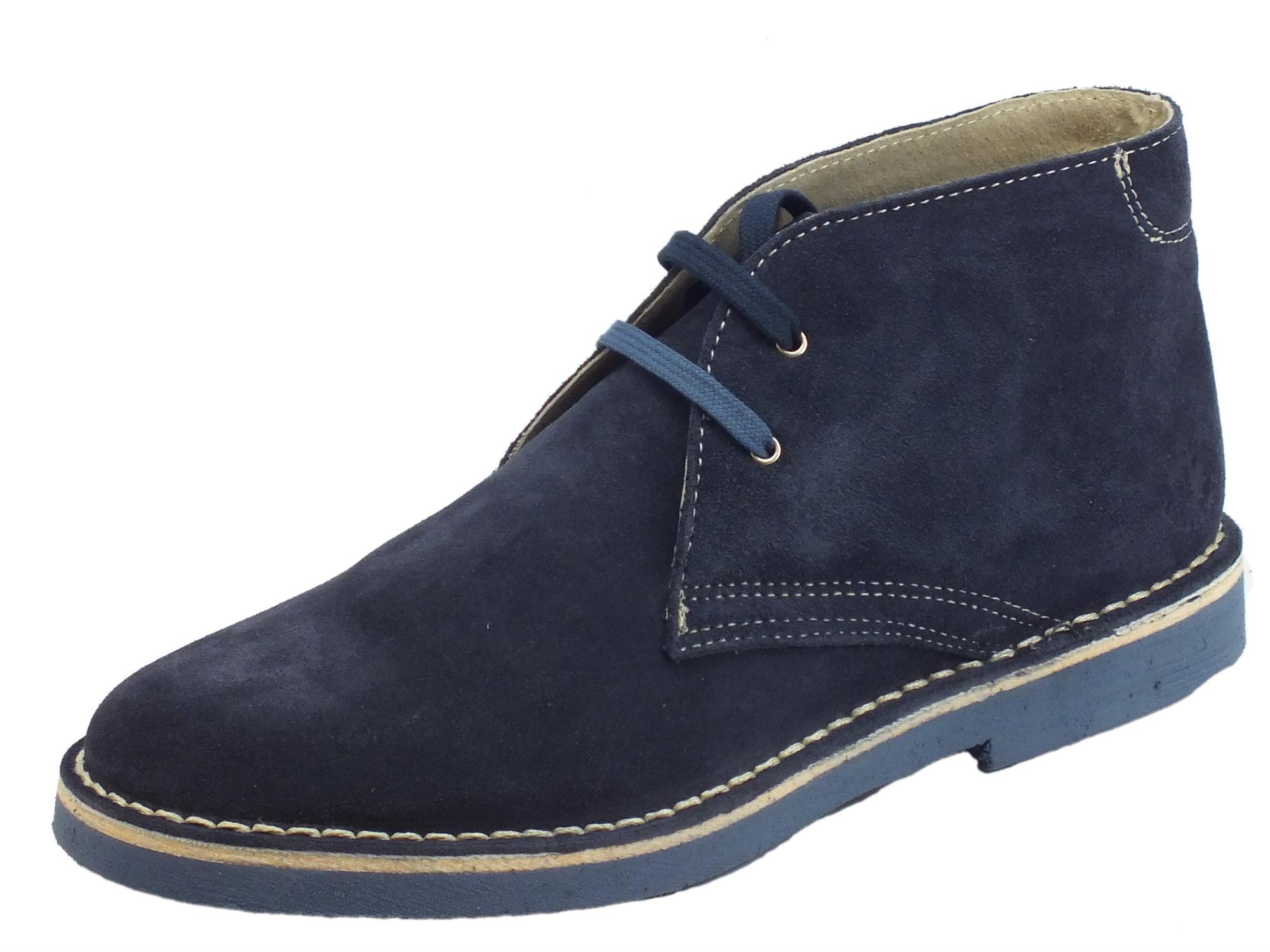 f18b5ccaa4 Lumberjack Gable scarpe polacchine uomo camoscio jeans ed - Vitiello ...