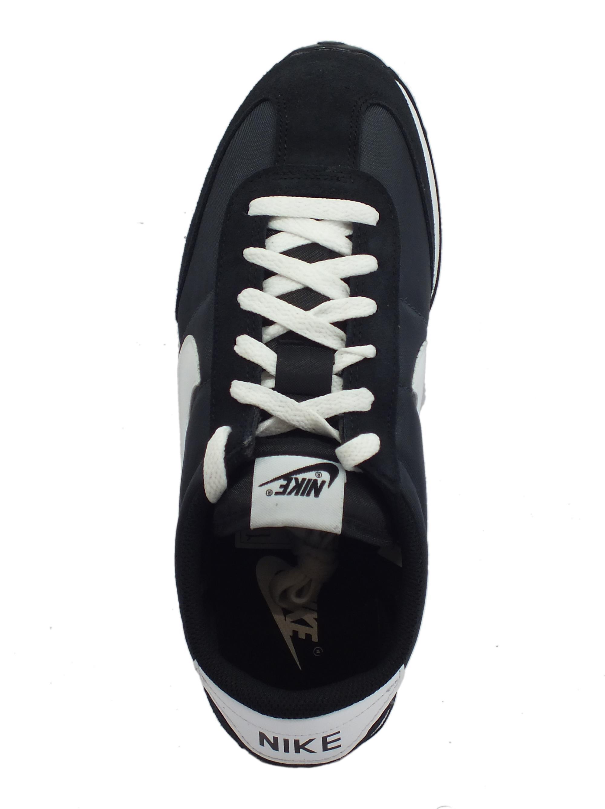 ... Scarpe sportive per uomo Nike mach runner camoscio e tessuto nero afacf6f1bd1
