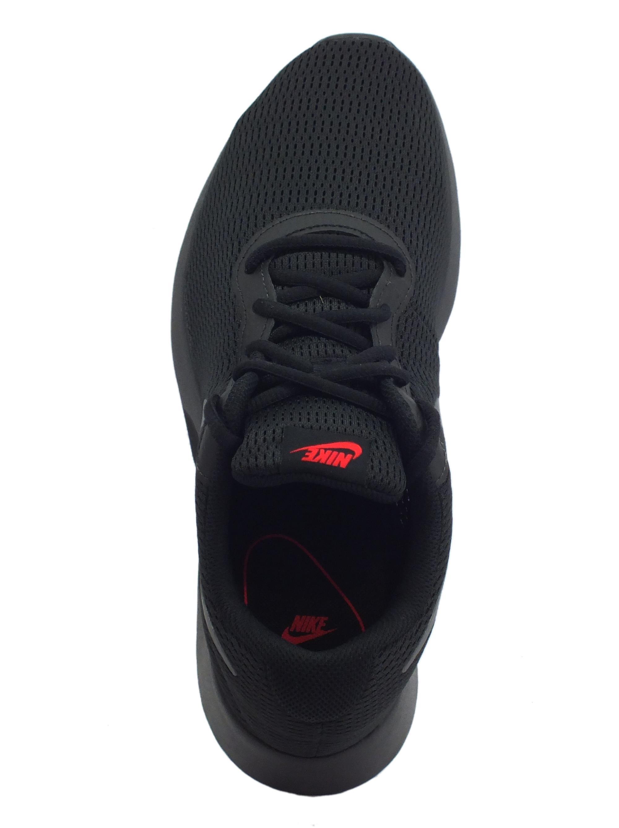 Scarpe sportive Nike Tanjun uomo tessuto nero - Vitiello Calzature 413b9503a31