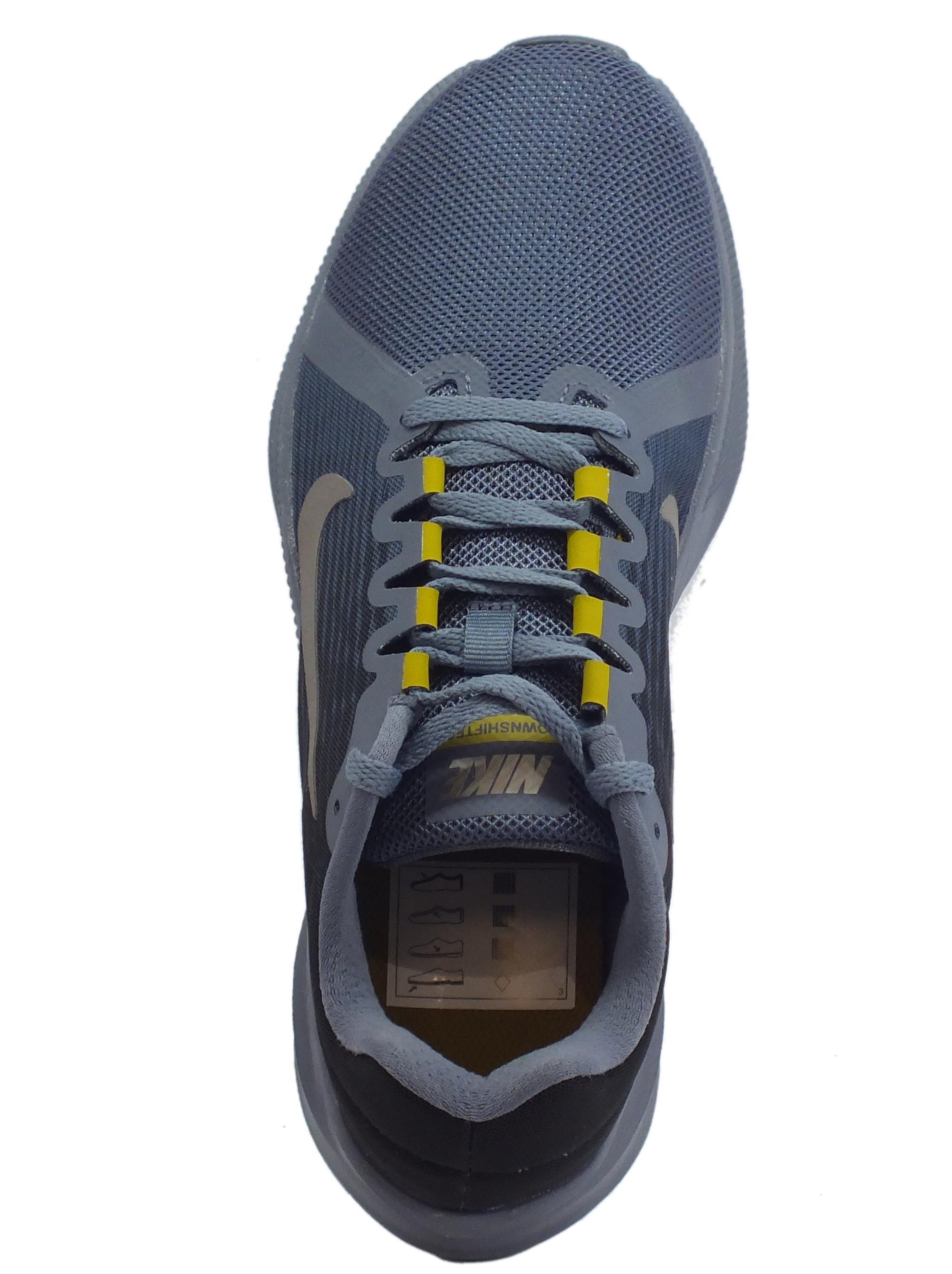 043cbbbed639 Scarpe Nike Downshifter 8 Light Carbon uomo tessuto - Vitiello Calzature