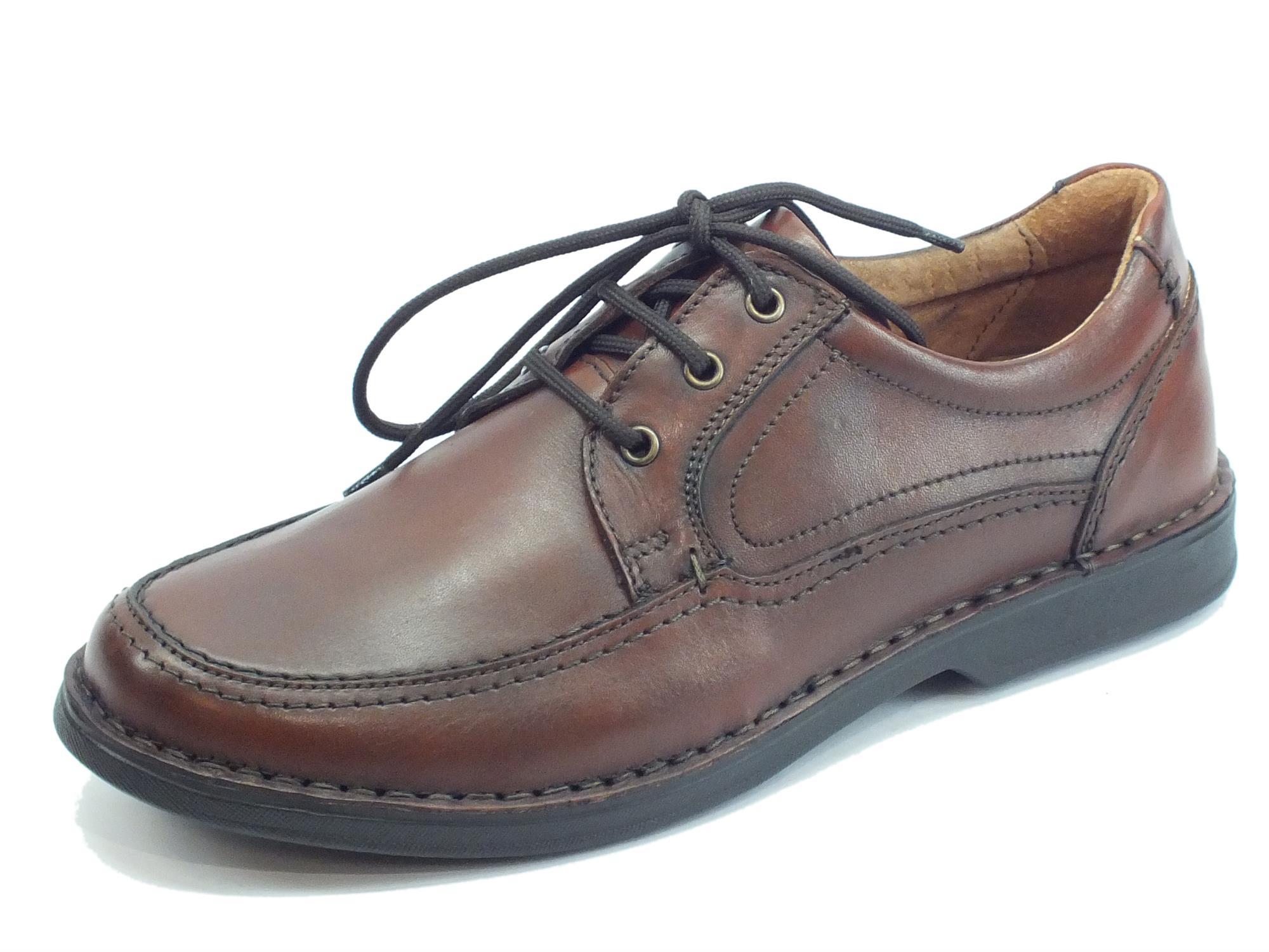 70f893cddbe8 Zen Air ocra scarpe pelle marrone - Vitiello Calzature