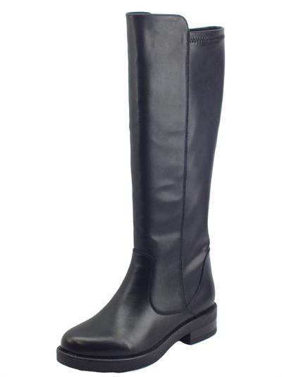Articolo CafèNOIR EA1250 Nero Stivali per Donna in pelle elasticizzata