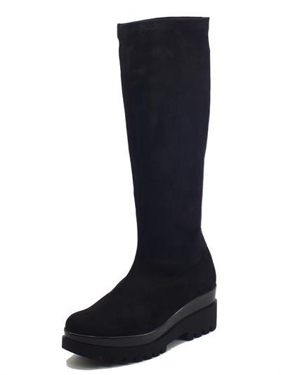 Articolo Cinzia Soft IC1209CE Nero Stivali per Donna in tessuto elasticizzato nero