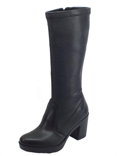 Articolo Igi&Co 4172000 Nappa So Sin. St Nero Stivali donna ecopelle elasticizzata nera tacco alto