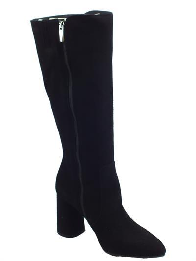 Igi&Co 4186700 Capra Scamosc Nero Stivali donna camoscio nero tacco 10cm