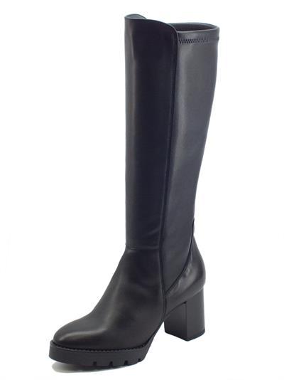 Articolo Igi&Co 8194200 Nappa Nero Stivali Donna in pelle con tacco medio
