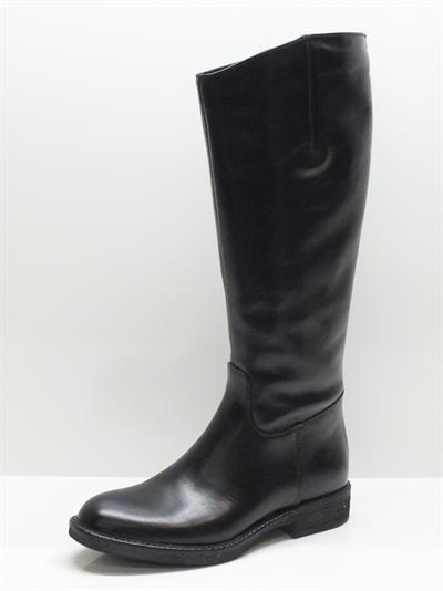 Articolo Stivali CafèNoir modello cavallerizzo per donna in pelle nera