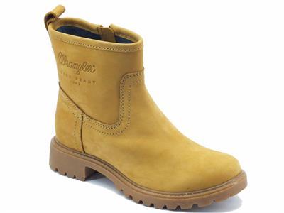 Articolo Tronchetto per donna Wrangler Creek Booty in nabuk yellow