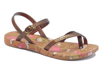 Infradito per donna Ipanema modello sandalo in caucciù bronzo