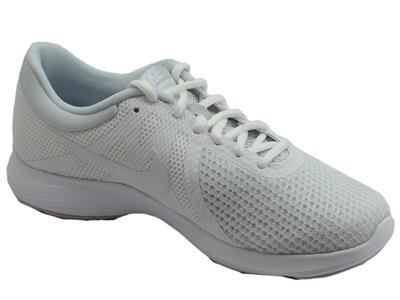 NIKE REVOLUTION 4EU WMNS scarpa ginnica donna in tela grigio