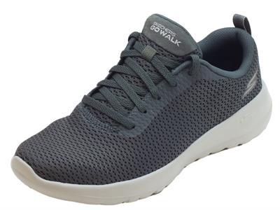 Articolo Scarpe sportive per donna Skechers in tessuto grigio