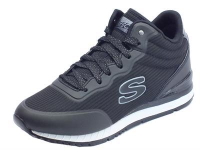 Articolo Scarpe sportive per donna Skechers Originals in tessuto colore nero