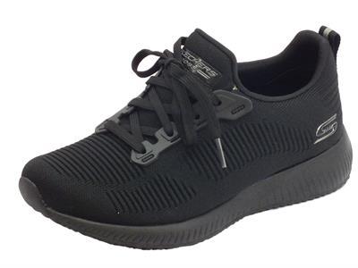 Articolo Scarpe Sportive Skechers Bobs per donna in tessuto nero
