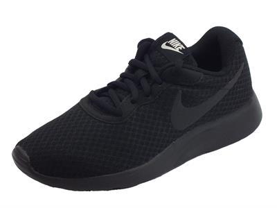 Articolo Scarpe sportive Wmns Nike Tanjun per donna in tessuto tecnico nero