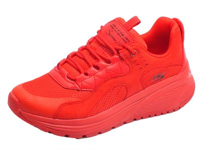 Skechers 117017/RED Bobs Sparrows 2.0 Urban Sounds Red Scarpe Sportive Donna in tessuto