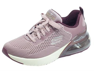 Skechers 13278/MVE Skech-Air Stratus Wind Breeze Mauve Scarpe Sportive Donna in tessuto