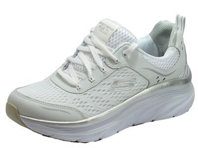 Articolo Skechers 149023/WSL Dlux Walker Infinite Motion White Scarpe Sportive per Donna in tessuto