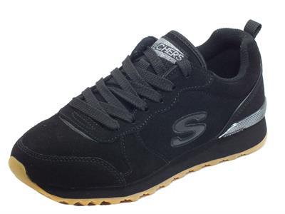 Articolo Skechers 155286/BBK OG 85 Suede Eaze Black Scarpe Sportive Donna in nabuk