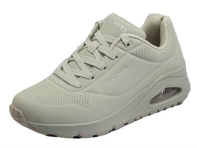 Articolo Skechers 73690/OFWT Stand On Air Off White Scarpe Sportive per Donna con memory foam