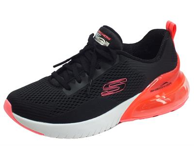 Articolo Skechers Air 13278/BKHP Wind Breeze Black Hot Pink Scarpe Sportive Donna