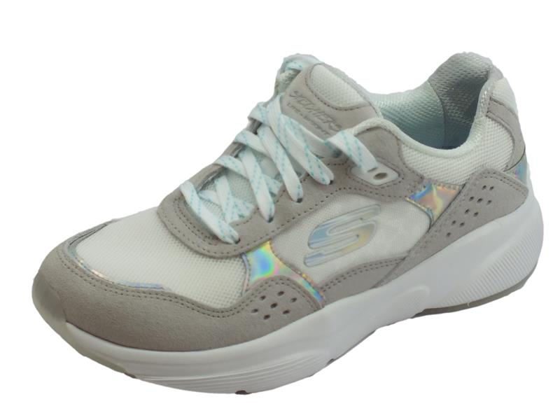 Skechers Meridian No Worries Scarpe Sportive Donna bianco - Vitiello  Calzature 78be131aa8d